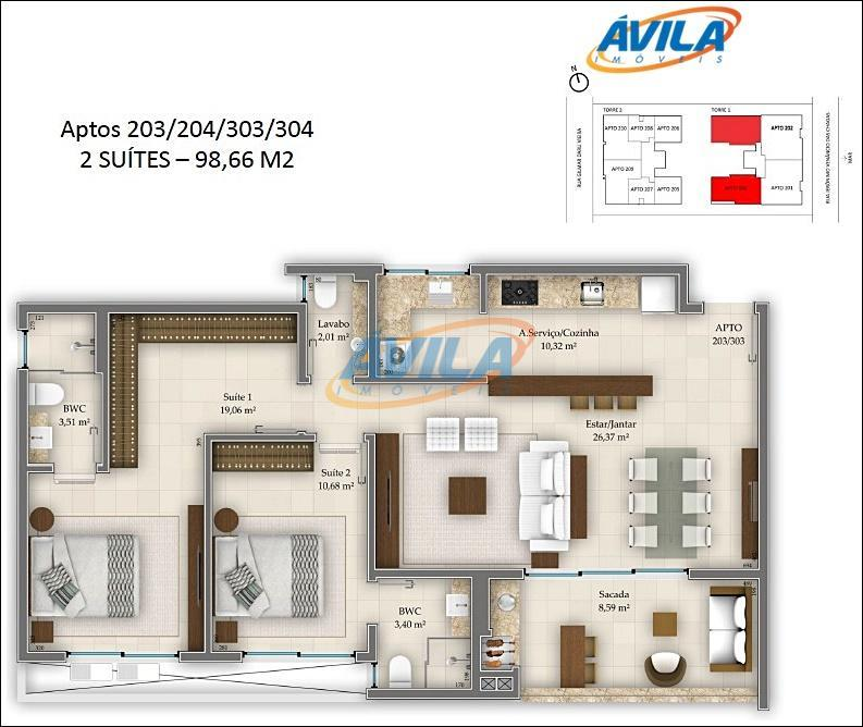 apartamento de 2 dormitórios, sendo 2 suítes, frente para o mar do campeche. churrasqueira, lavabo, 2...