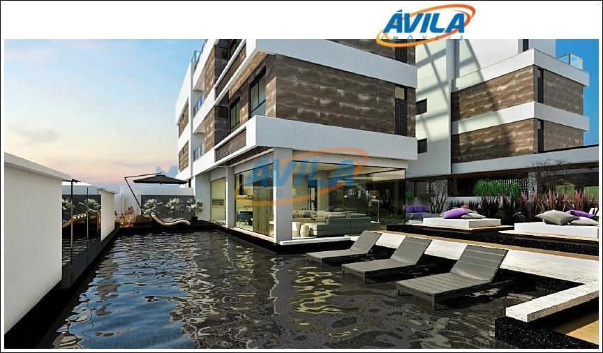 apartamento de 2 dormitórios, sendo 2 suítes, de frente para o mar do campeche. com privativa...