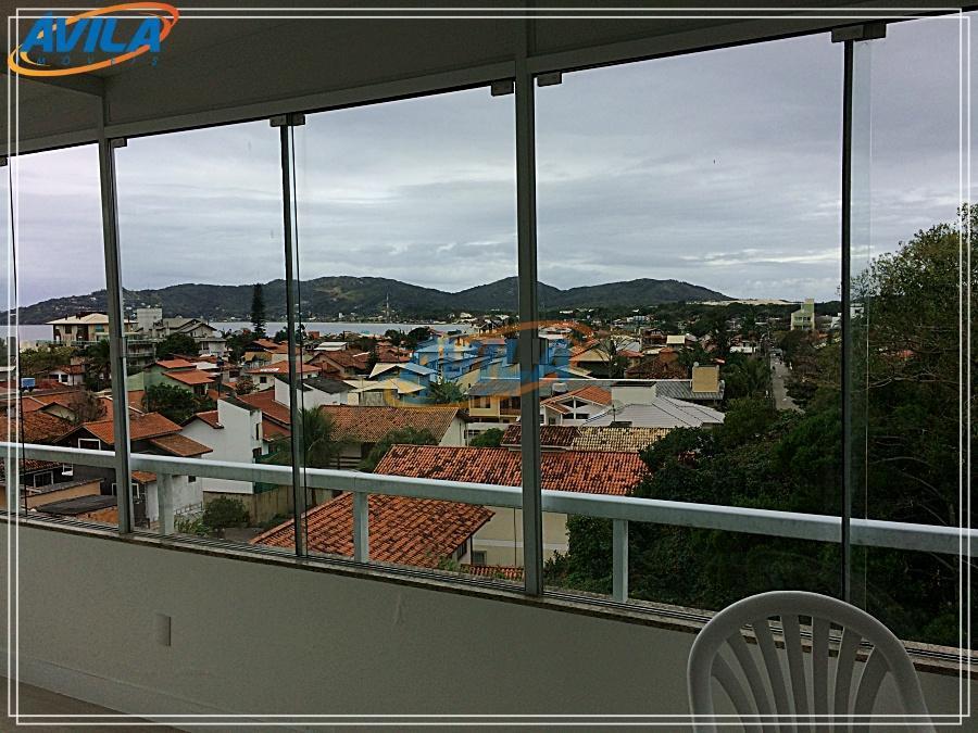Cob 4 D (2 S) + 2 VGs com vista na Lagoa - florianópolis