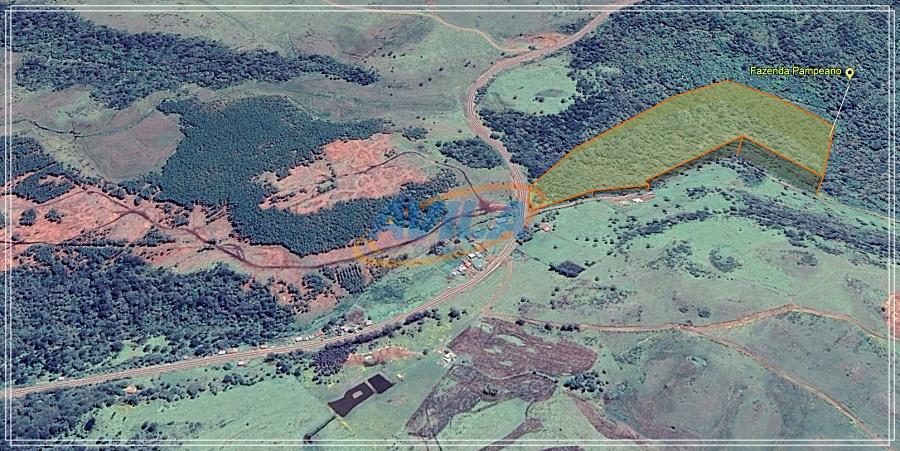 130.320 m2 de terra situada na estrada geral de urupema - rio rufino, na localidade de...