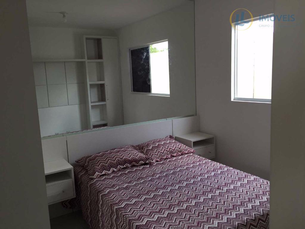 casa em condomínio fechado em parnamirim, com 2 quartos, banheiro, varanda, sala de estar/jantar, cozinha, área...