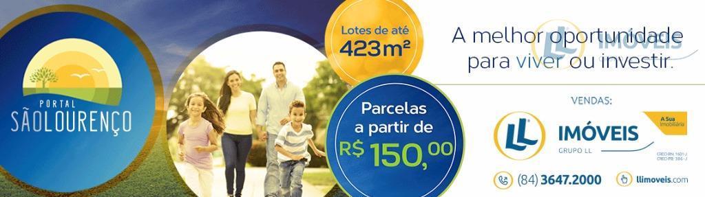loteamento com parcelas a partir de r$ 150,00 mensais. lotes a partir de 200 m². com...