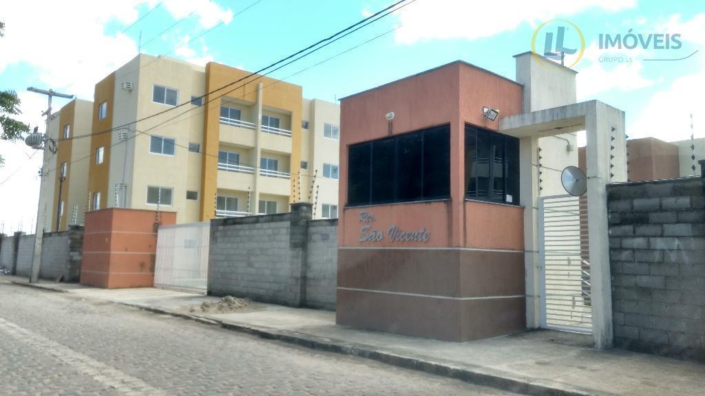 apartamento com 57 m², 2 quartos, sendo 1 suíte, banheiro social, cozinha, área de serviços e...