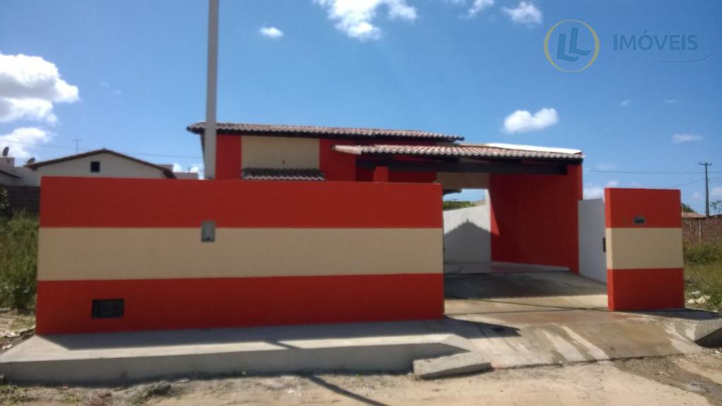 Casa residencial à venda, Reta Tabajara, Macaíba.