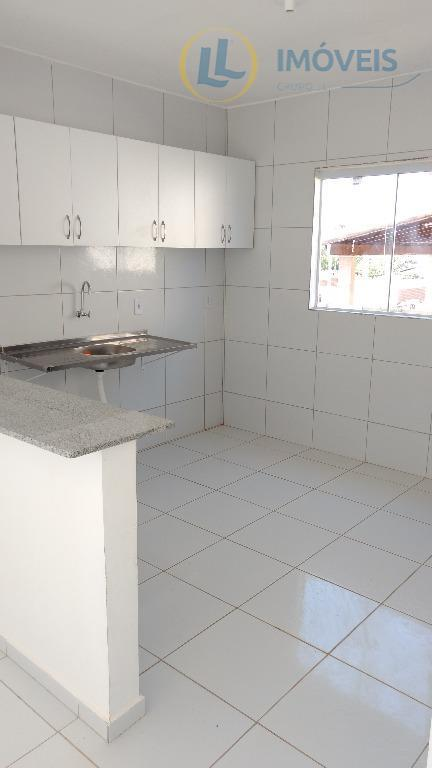 casas no caminho das águas, em parnamirim, medindo 65 m² de área privativa, com dois quartos...