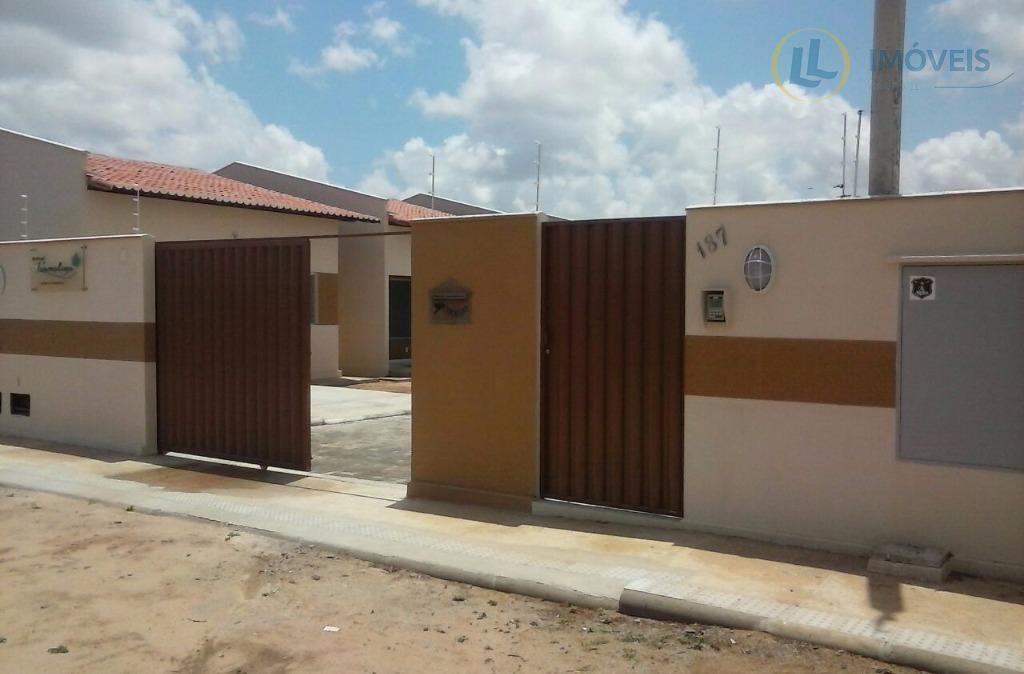 Casa com 2 quartos em Condomínio Fechado à venda, Santa Tereza, Parnamirim.