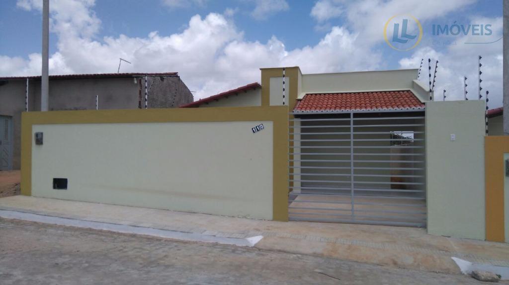 Casa Nova a venda no Bella Luna, Nova Esperança Parnamirim