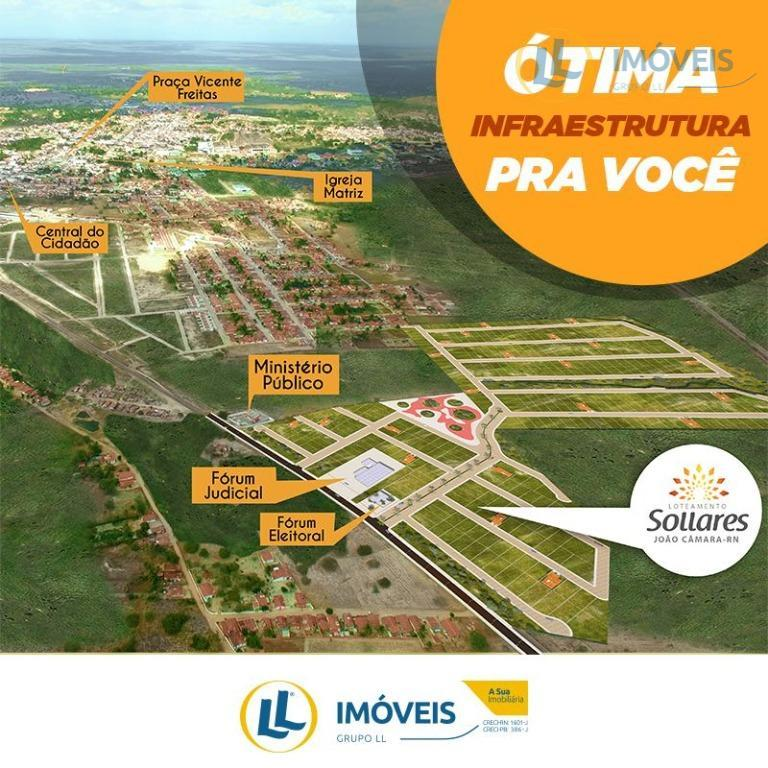 Terreno no Loteamento Sollares João Câmara, Centro, João Câmara.