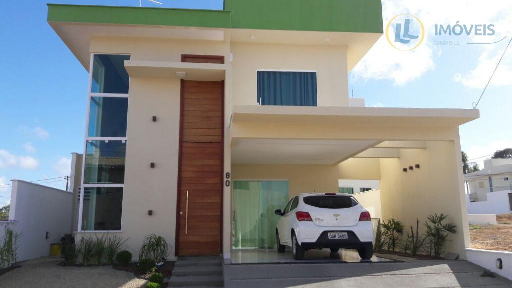 linda casa no condomínio fazenda parque com 3 dormitórios, 3 suítes, 2 salas, 2 vaga de...