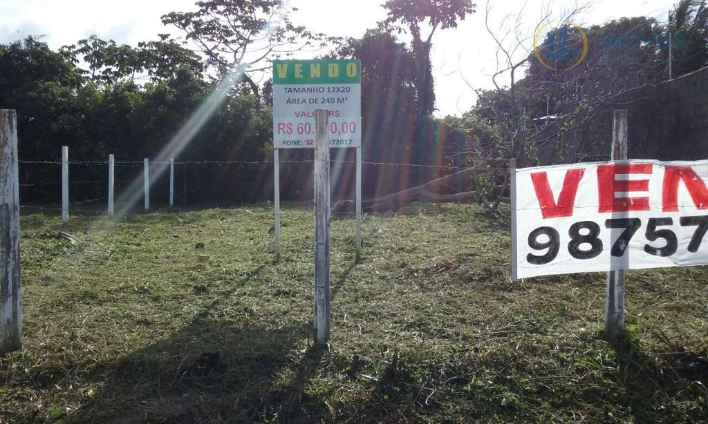 Terreno residencial à venda, Parque das Nações , Parnamirim.
