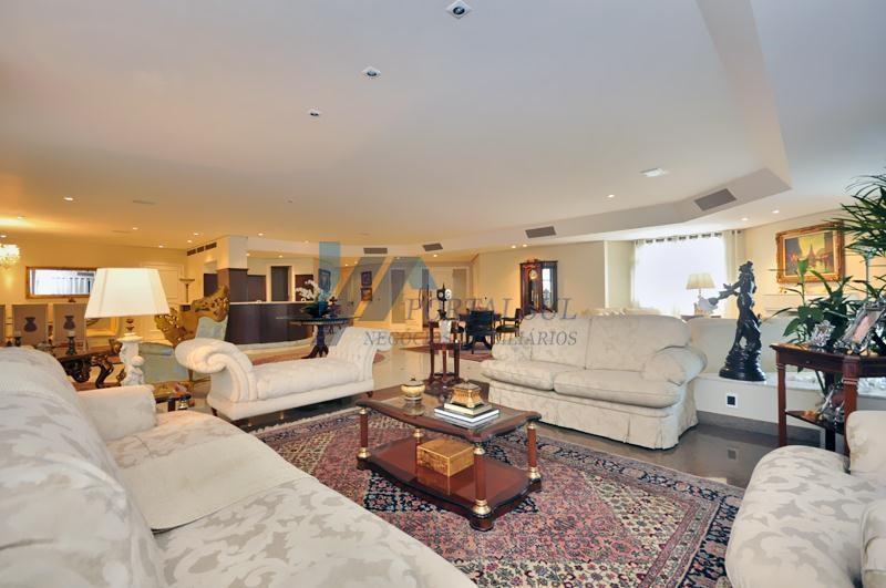 Apartamento alto padrão para venda e locação no Panamby