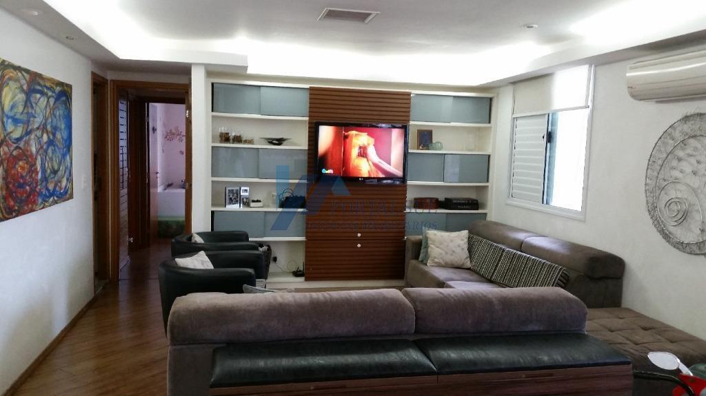 Excelente apartamento  residencial à venda, Brooklin, São Paulo.