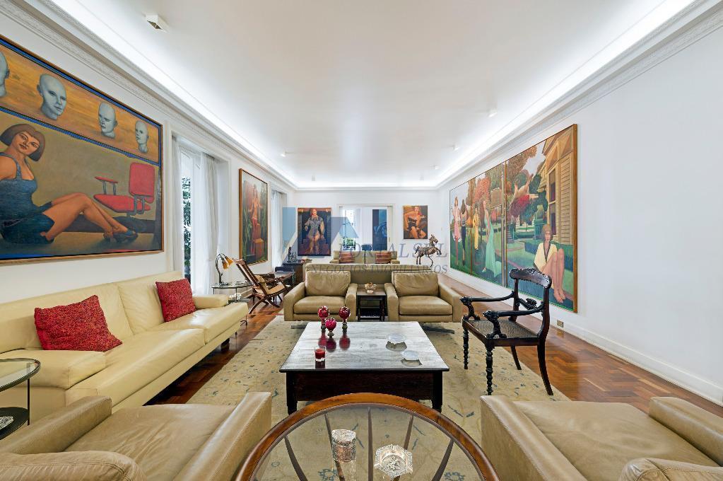 Apartamento Duplex à venda, Higienópolis, 05 dormitórios e 04 vagas