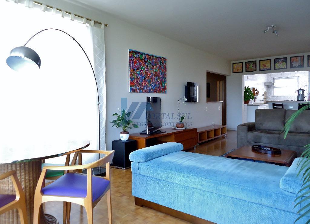 Apartamento à venda e locação, bairro Paraíso,  próximo do Parque Ibirapuera, 03 dormitórios (01 suíte) e 02 vagas