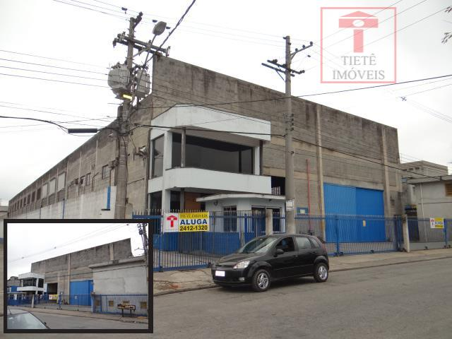 Galpão  industrial para locação, Jardim Leblon, Guarulhos.