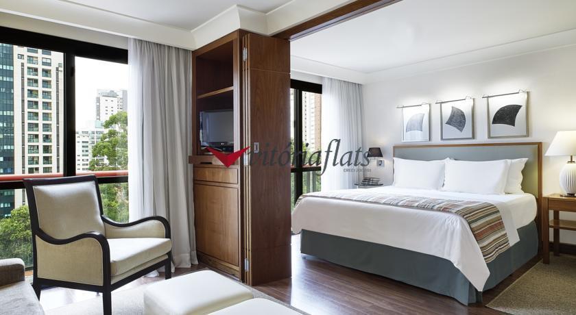 Flat alto padrão disponível para locação em Pinheiros