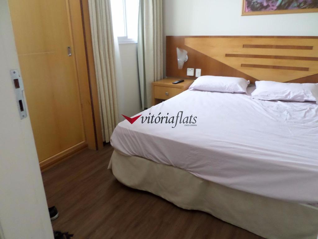 Flat residencial para venda e locação, Vila Bastos, Santo André - FL0322.