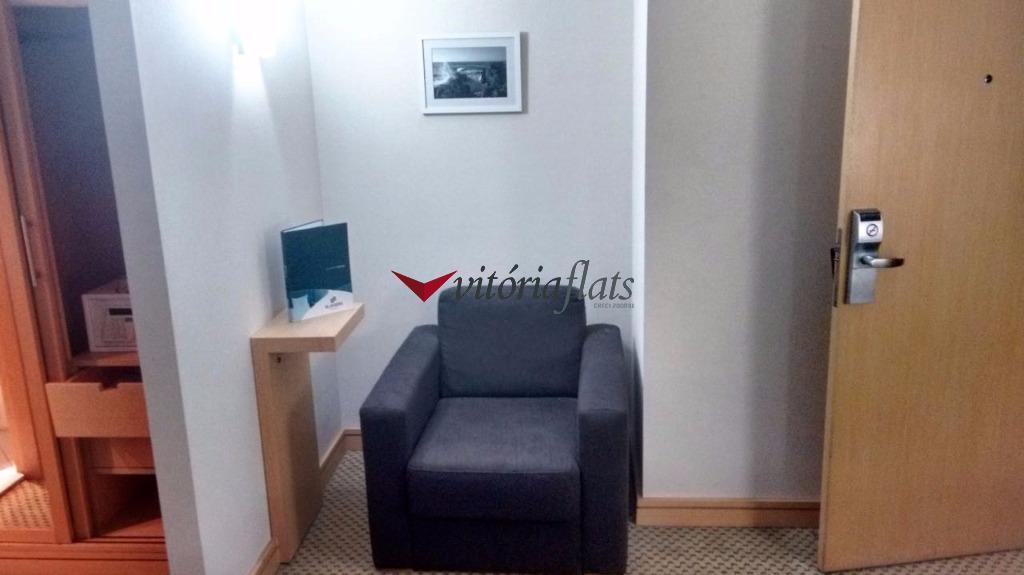 Flat residencial para locação, Vila Moreira, Guarulhos.