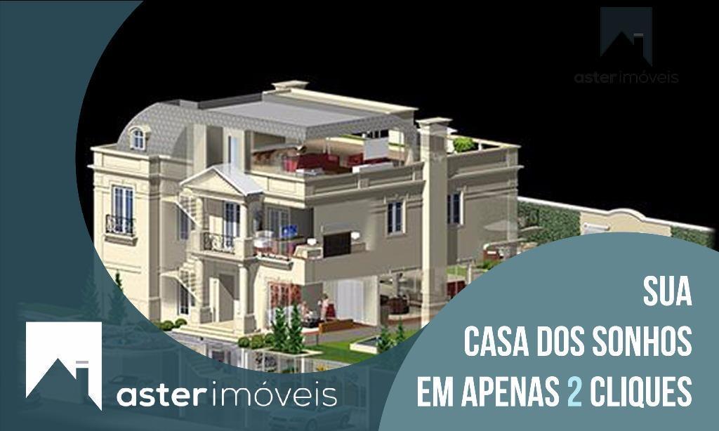 Casa Alto Padrão à venda, Hugo Lange, Curitiba.