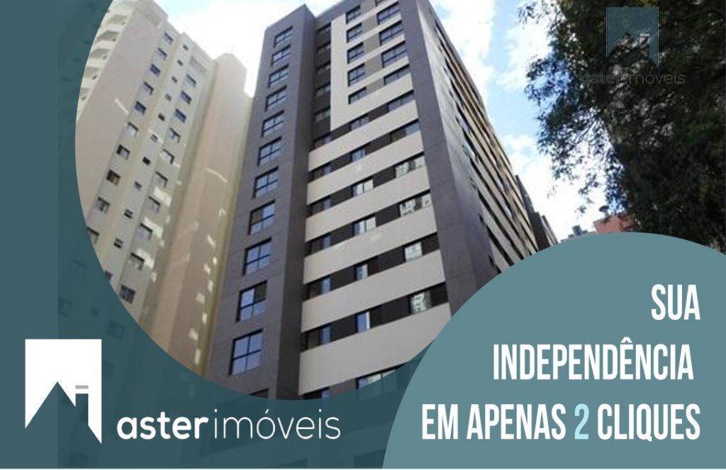 Studio residencial para locação, Cristo Rei, Curitiba.