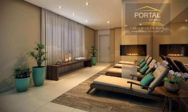 apartamento de 01 dormitórios, sala, cozinha, área de serviço, varanda e 01 vaga na garagem.