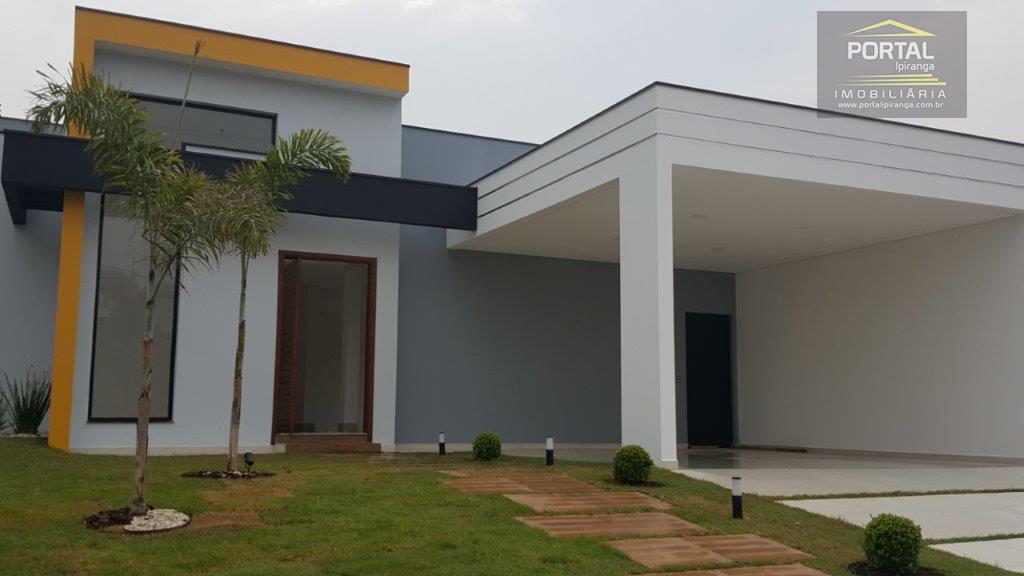 Casa residencial à venda, Jardim Reserva Bom Vive, Indaiatuba - CA1052.