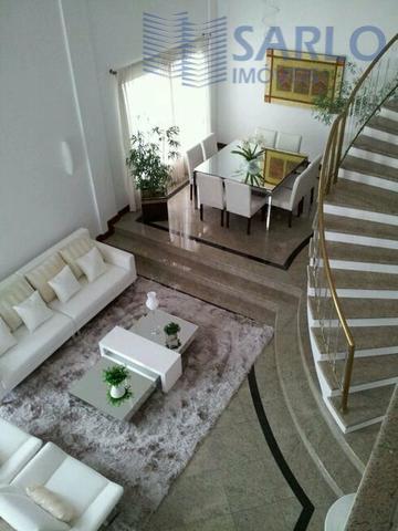excelente casa triplex, com 05 quartos, 04 suítes com hidro, 05 vagas de garagem, sala de...