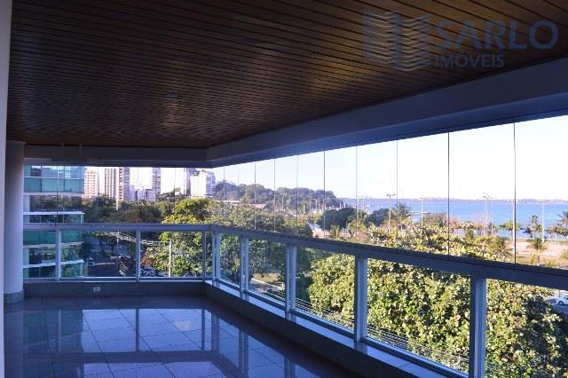 Apartamento 05 quartos 05 suítes varanda vista para o mar armários e 5 vagas de garagem lazer completo Praia do Canto Vitória ES