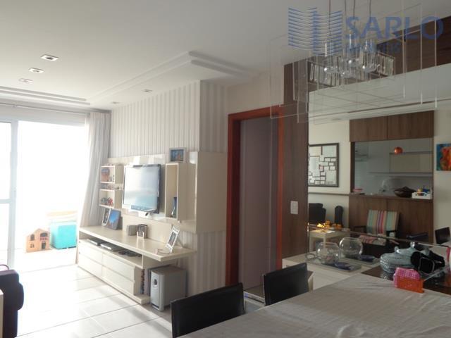 Apartamento residencial para venda 3 três quartos, suíte, varanda, lazer, vaga de garagem, Enseada do Suá, Vitória ES
