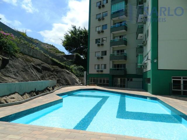 3 quartos em Santa Lúcia próximo Praia do Canto com lazer completo
