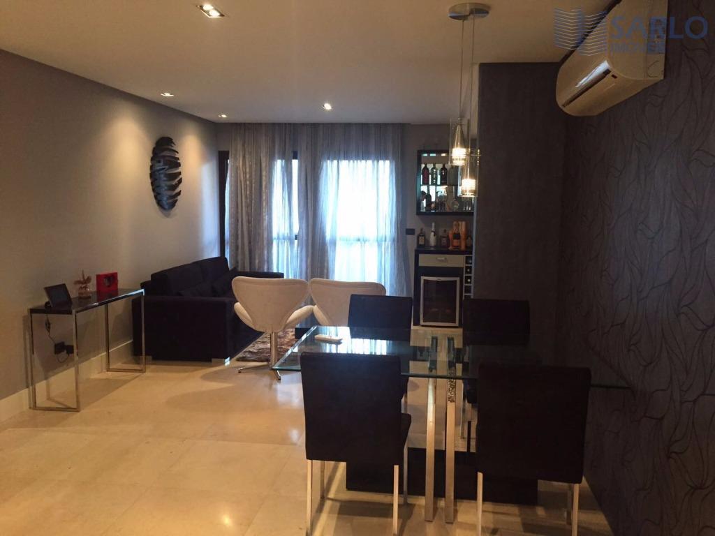 Apartamento 2 dois quartos transformados em 1 mobiliado com vaga de garagem Praia do Canto Vitória
