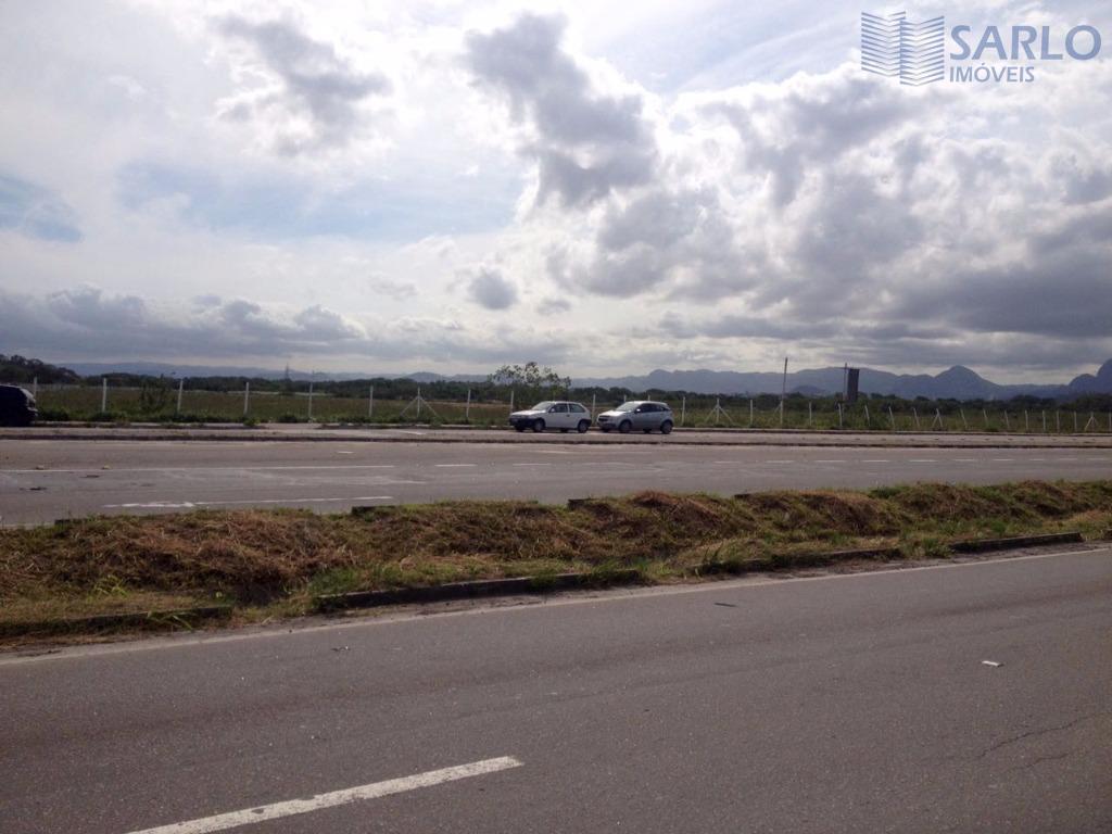 excelente área comercial de 100.000m2 na melhor localização da rodovia darly santos, de frente para a...
