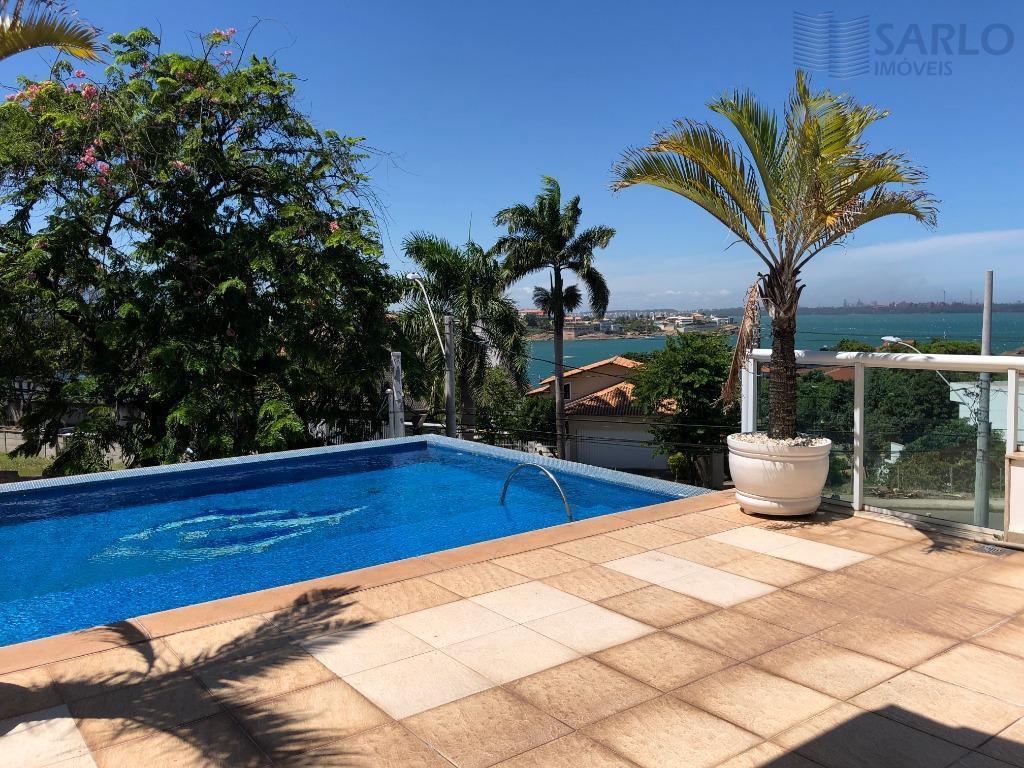 casa triplex vista para o mar 5 cinco quartos suite hidro varanda ilha do boi lazer garagem