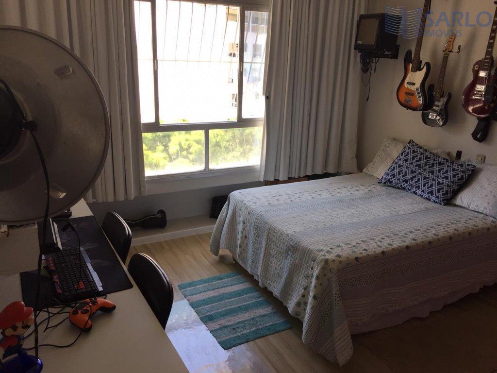 apartamento 03 quartos com suíte na praia do canto, 125 m2, , armários, split ja passado,...
