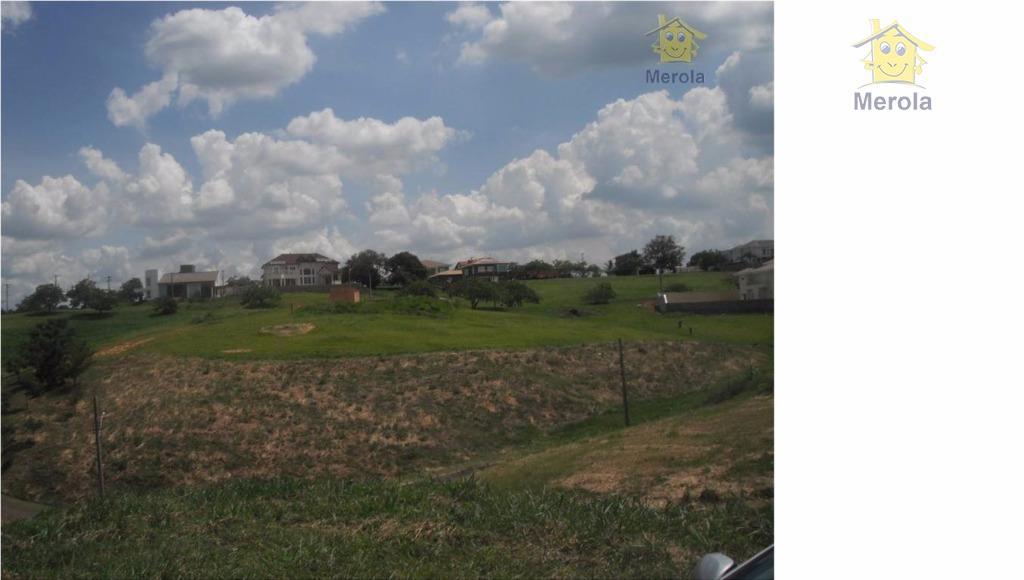 Terreno residencial à venda, Condomínio Santa Tereza, Vinhedo.