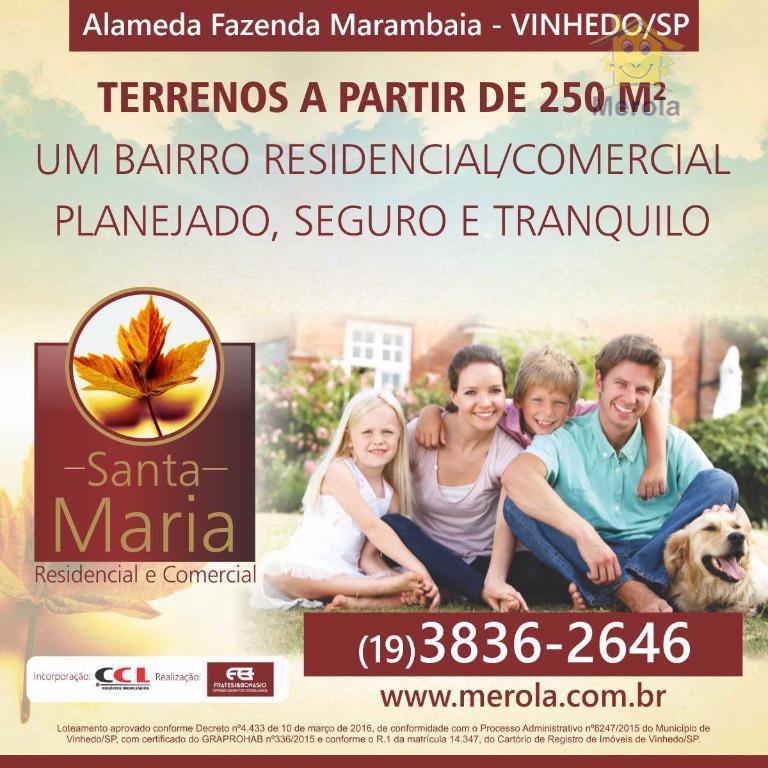 Terreno residencial à venda, Jardim Eldorado, Vinhedo.