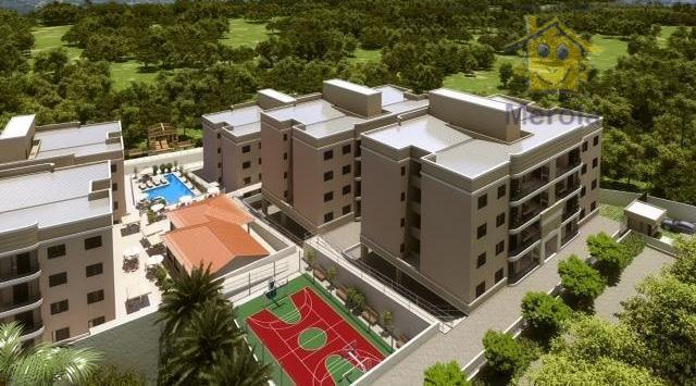 Apartamento residencial à venda, Condomínio Mondo Itália, Vinhedo.