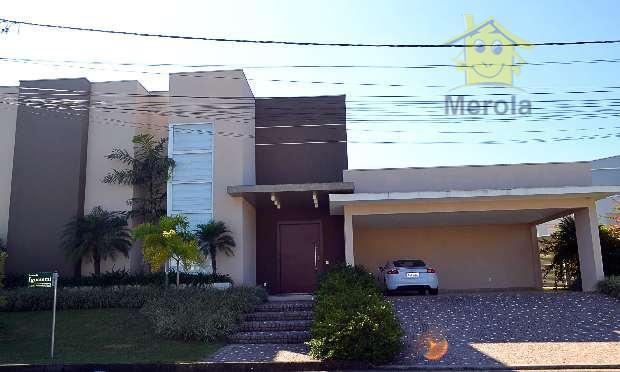 Casa residencial à venda, Condomínio Jardim Paulista II, Vinhedo.