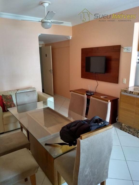 Apartamento MOBILIADO completo  residencial  Glória, Macaé.