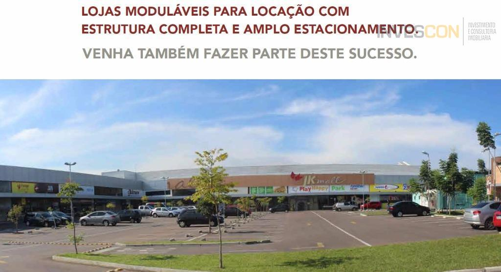 Loja Comercial com 74,67 m² privativos no JK Mall