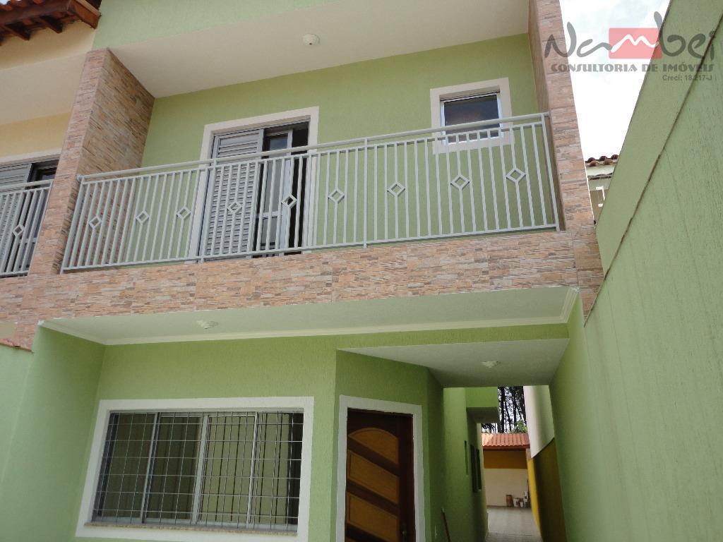 Sobrado com 3 dormitórios à venda, 98 m² por R$ 520.000 - Jardim Nossa Senhora do Carmo - São Paulo/SP