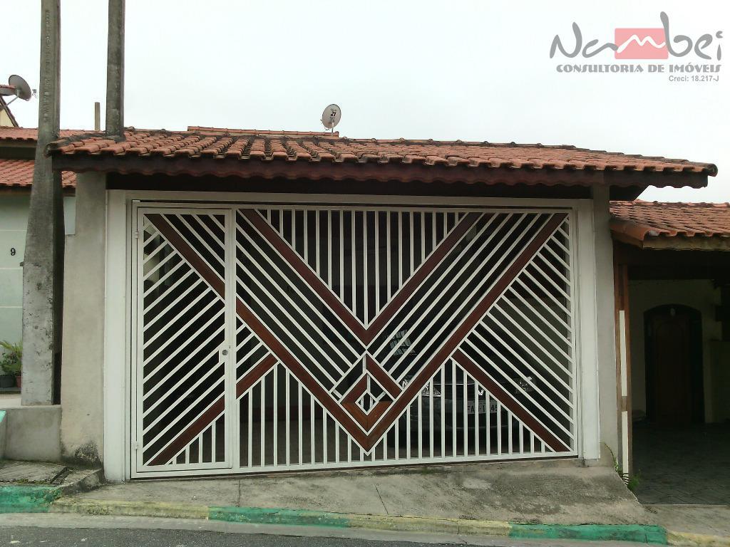 Sobrado residencial à venda, Parque Dourado, Ferraz de Vasconcelos - SO0066.