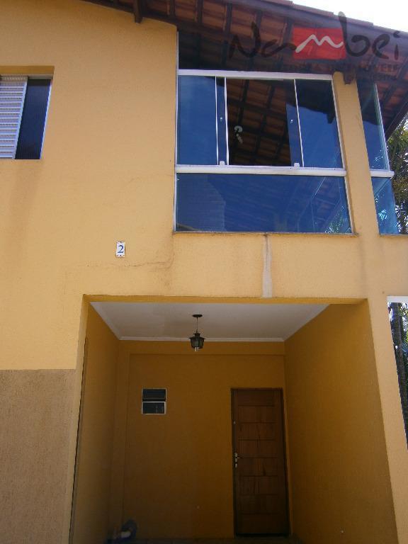 sobrado semi geminado com maravilhoso terraço com fechamento em vidro verde e churrasqueira privativa.2 excelentes dormitórios,...