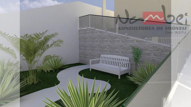 sobrado novo com 01 dormitório, sala, cozinha, wc e área de serviço;aceita financiamento bancário;* valores sujeito...