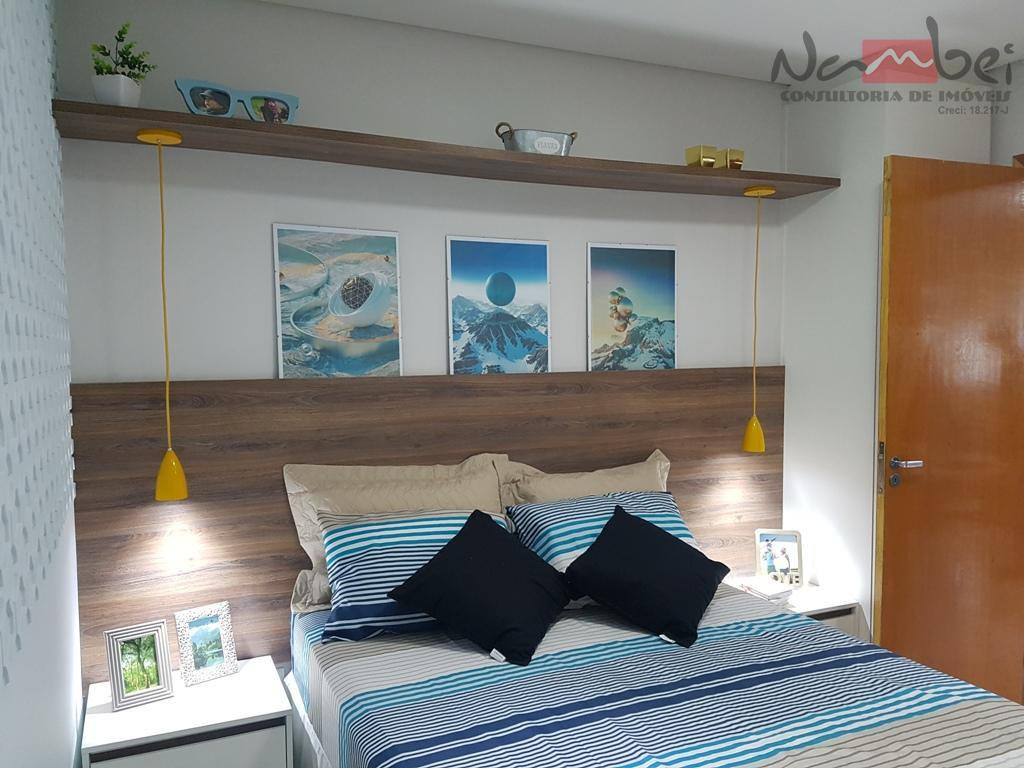 sobrado novo com 01 dormitório, sala, cozinha, wc, área de serviço e 01 vaga subterrânea;próximo ao...