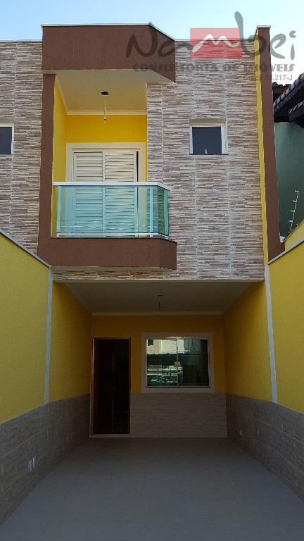 Sobrado residencial à venda, Vila Salete, São Paulo.