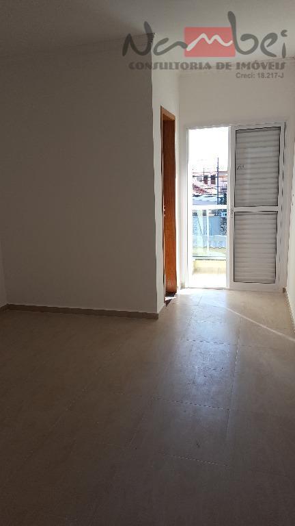 sobrado novo com 3 dormitórios sendo 01 suítes, sala 02 ambientes, cozinha, lavabo, área de serviço,...