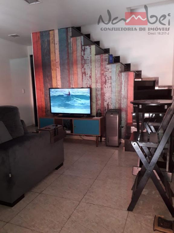 Sobrado com 2 dormitórios à venda por R$ 285.000 - Vila Carmosina - São Paulo/SP