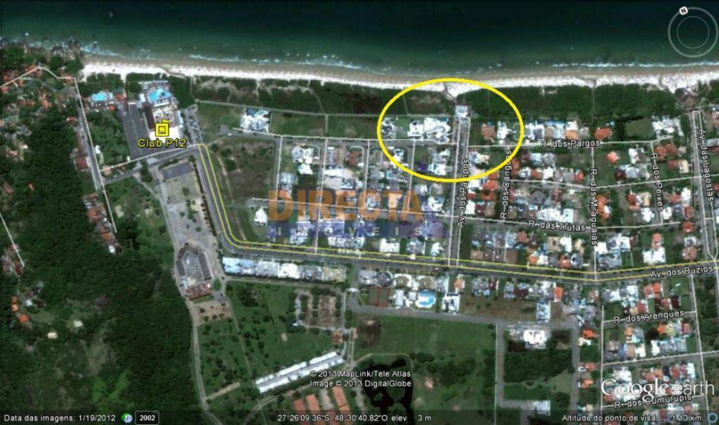 Terreno frente mar em Jurerê Internacional, Florianópolis.