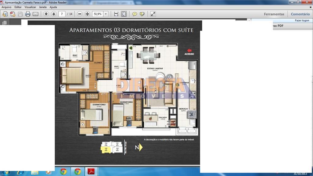 localização privilegiada, no coração da cidadeconforto, lazer e bem-estar apartamentos de 3 dormitórios (suíte)1 vaga de...